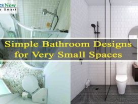 Simple Bathroom Designs for Very Small Spaces
