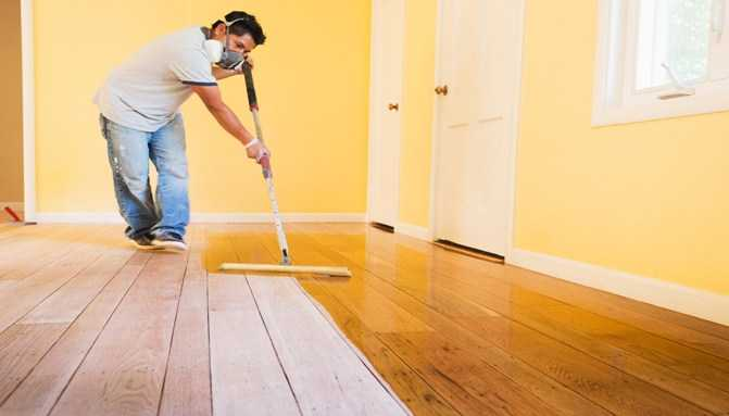 Renew Old Floors through a Coat of Painting